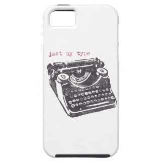 """just my type"" iphone 5 case"