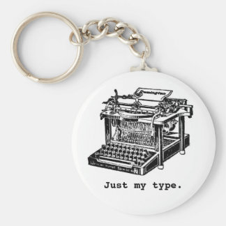 Just my type, Typewriter Keychain