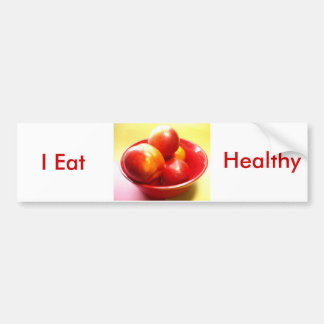 Just Nectarines Bumper Sticker