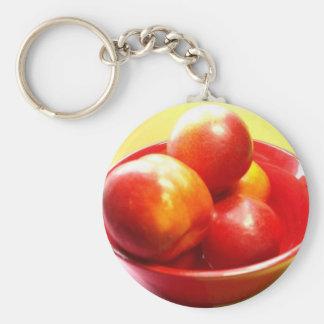 Just Nectarines Keychain