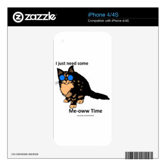 Just Need Meow Time Decals For The iPhone 4S