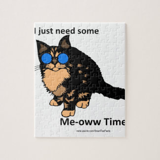 Just Need Meow Time Jigsaw Puzzle