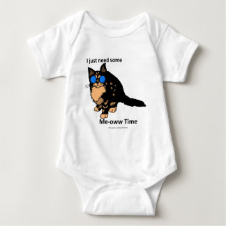 Just Need Some Meow Time Baby Bodysuit