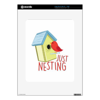 Just Nesting iPad Decals