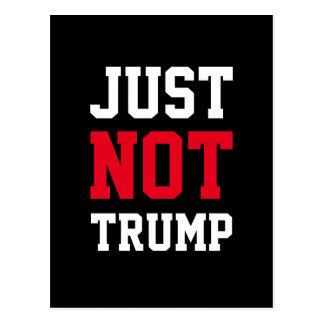 """Just Not Trump"" Postcards"