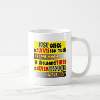 Just Once is Enough.JPG Coffee Mug