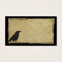 Just One Black Crow- Prim Biz Cards