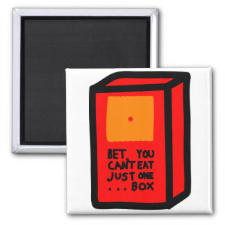 Just One Box Refrigerator Magnets