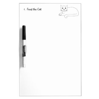 Just ONE Cat! Dry Erase Board