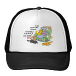 Just One Cat Short Of Being A Crazy Cat Lady Trucker Hat