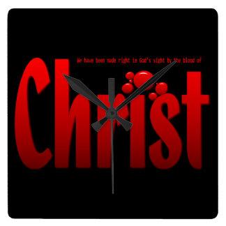 Just One Drop - Romans 5:9 Clocks