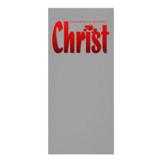 Just One Drop - Romans 5:9 Customized Rack Card