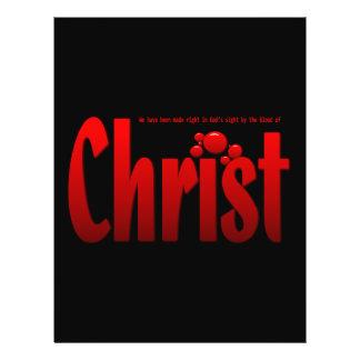 "Just One Drop - Romans 5:9 8.5"" X 11"" Flyer"