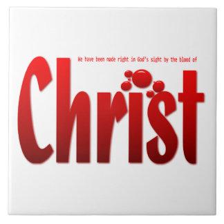 Just One Drop - Romans 5:9 Tiles