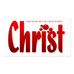Just One Drop - Romans 5:9 Tract Card / Business Card