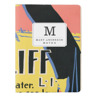 Just one long step to Sea Cliff Extra Large Moleskine Notebook Cover With Notebook