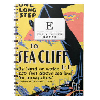 Just one long step to Sea Cliff Notebook