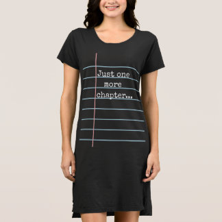 Just one more chapter... Black Note Paper Dress