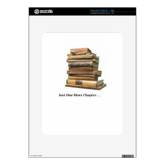 Just One More Chapter iPad Skin