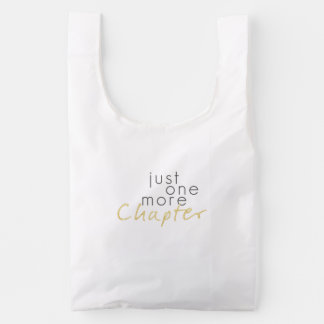 Just One More Chapter Nylon Bag