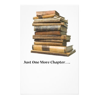 Just One More Chapter Stationery