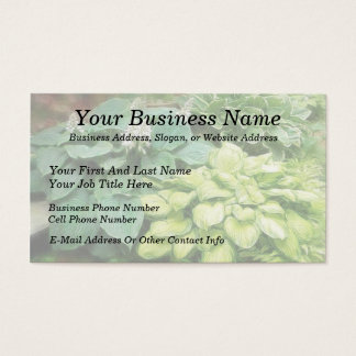 Just One More Hosta! Business Card