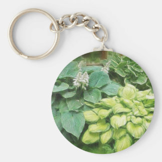 Just One More Hosta! Keychain
