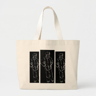 Just One of Those Days - CricketDiane Art Large Tote Bag
