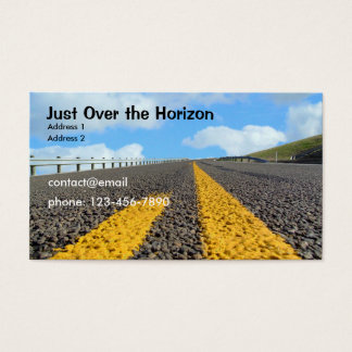 Just Over the Horizon Business Card