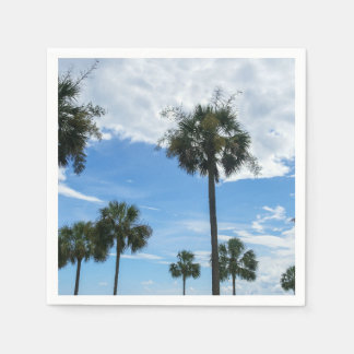 Just Palm Trees Paper Napkin