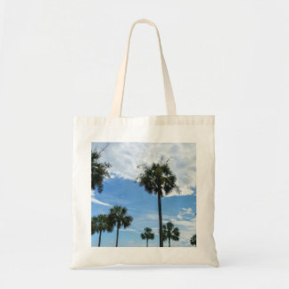 Just Palm Trees Tote Bag