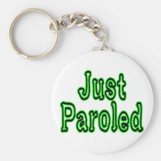 Just Paroled Keychain