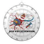 Just Pay Attention (Neuron / Synapse) Dartboard