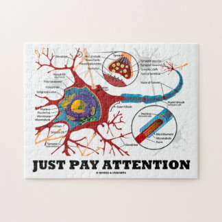 Just Pay Attention (Neuron / Synapse) Jigsaw Puzzle