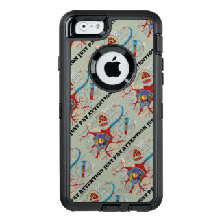 Just Pay Attention Neuron Synapse Neurotransmitter OtterBox iPhone 6/6s Case