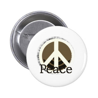 Just Peace 2 Inch Round Button