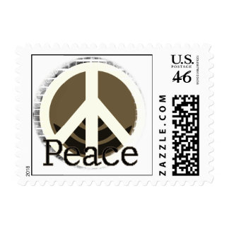 Just Peace T-shirts and Gifts Stamp