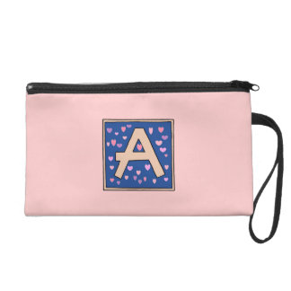 Just Peachy A Monogrammed Wristlet