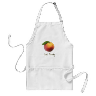Just Peachy Adult Apron