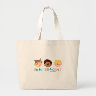 Just Peachy Canvas Bags