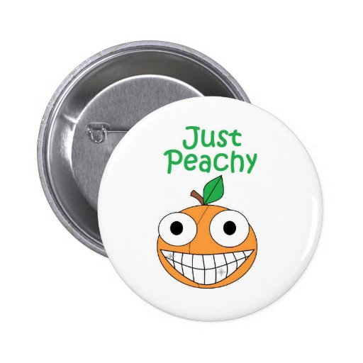 Just Peachy Button