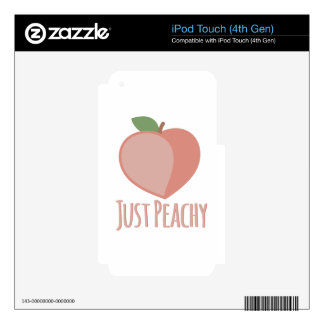Just Peachy Decals For iPod Touch 4G