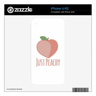 Just Peachy Decals For The iPhone 4S