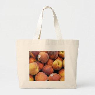 Just Peachy Large Tote Bag