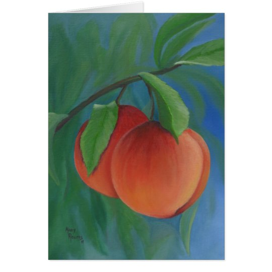 Just Peachy Note Cards