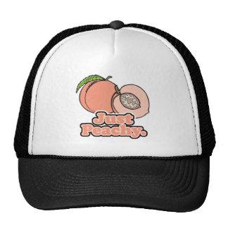 Just Peachy Peach Hats