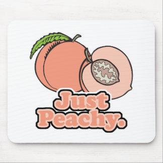 Just Peachy Peach Mouse Mat