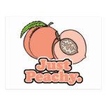 Just Peachy Peach Post Cards
