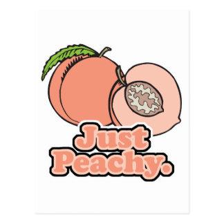 Just Peachy Peach Postcards