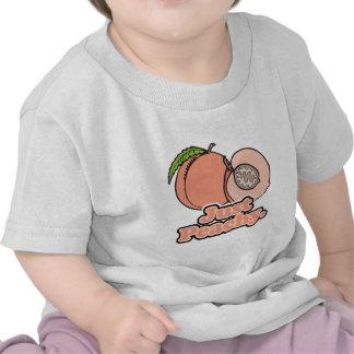 Just Peachy Peach Tee Shirt
